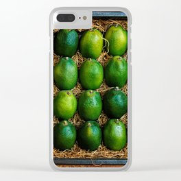 Box of Limes Clear iPhone Case