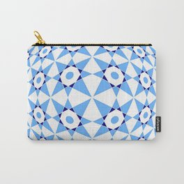 Tribute to Vasarely 9 -visual illusion- with star of david Carry-All Pouch