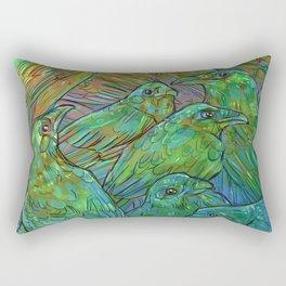 Illustration ; Birds Rectangular Pillow