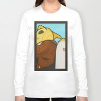 lichtenstein Long Sleeve T-shirts featuring Go get 'em, kid by Danny Haas