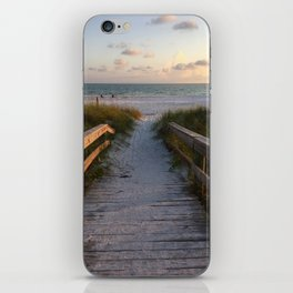 Beach Boardwalk iPhone Skin