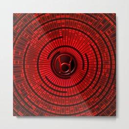 RED LANTERN Metal Print