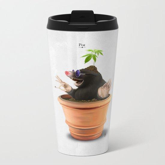 Pot Metal Travel Mug