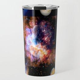 Space Galaxy Nebula Collage Travel Mug
