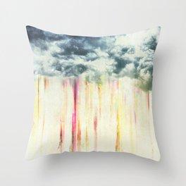 Let it rain on me Throw Pillow