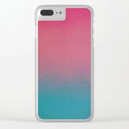 art 85 Clear iPhone Case