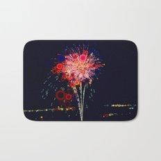 Fireworks! Bath Mat