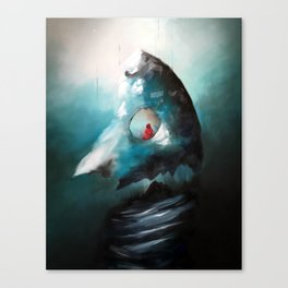 Totems Vertical Canvas Print