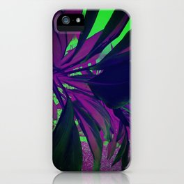 Behind the foliage iPhone Case