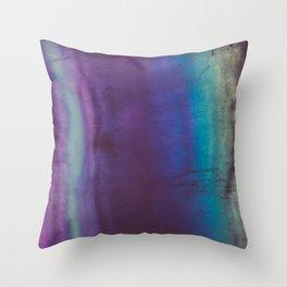 Bohemian Blue Earth Throw Pillow