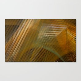 Abstract Architecture Study Canvas Print