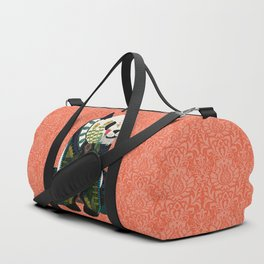 panda orange Duffle Bag