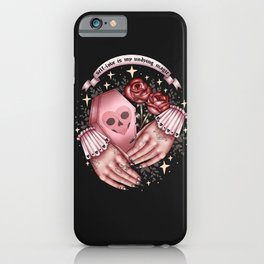 self-love is my undying magic iPhone Case
