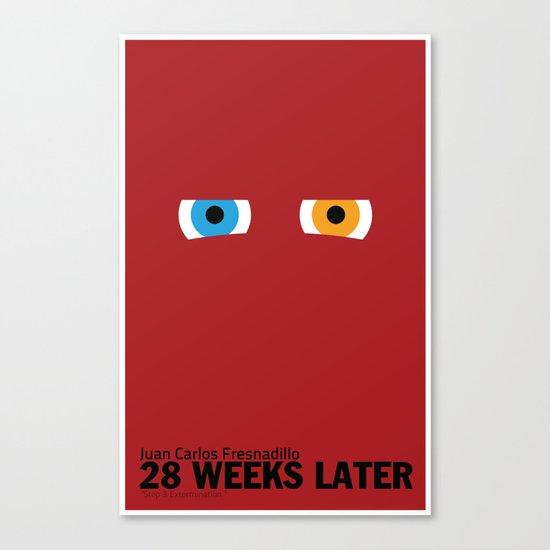 28 Weeks Later | Minimalist Movie Poster Canvas Print