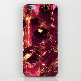 Red city iPhone Skin