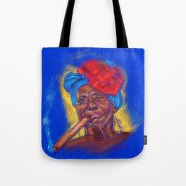 Cigar Woman Tote Bag
