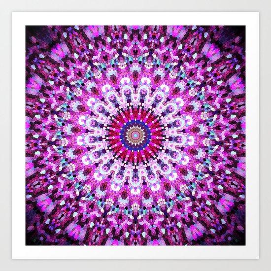 ARABESQUE PINK Art Print
