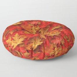 Autumn Case Fall Leaves Floor Pillow