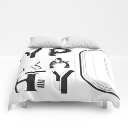 Typ0graphy Comforters