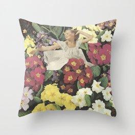 Waking up Throw Pillow