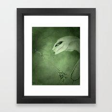 ex Framed Art Print
