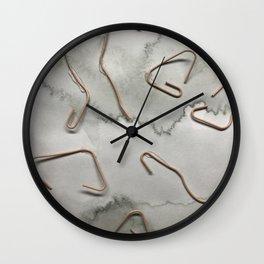 Tie Dye Tea Wall Clock