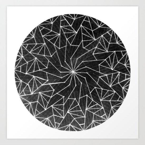 Spinny 4 Art Print