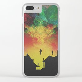 ABDUCTED Clear iPhone Case