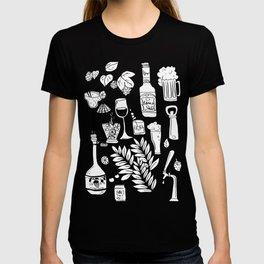 Alcohol Doodles T-shirt