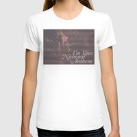 jessica lange T-shirts featuring American Horror Story Jessica Lange Flag by NameGame