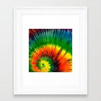 hippie Framed Art Prints featuring HIPPIE by Maioriz Home