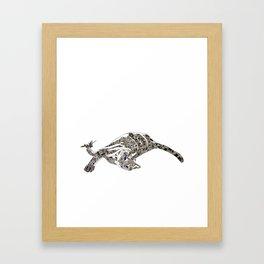 Flash Framed Art Print