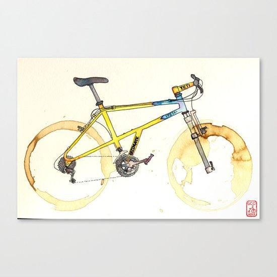 Coffee Wheels #15 Canvas Print