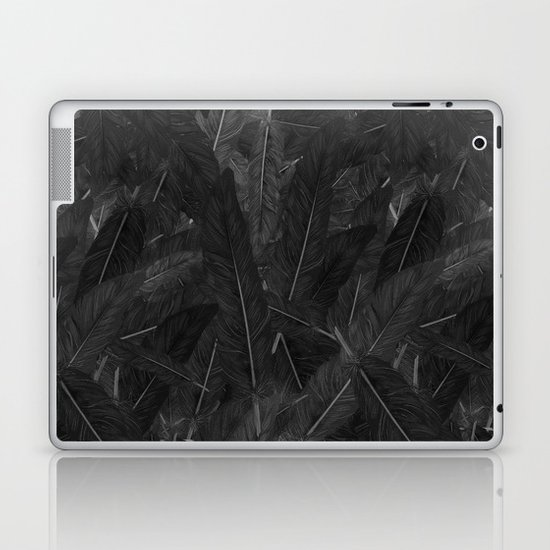 Feathered (Black). Laptop & iPad Skin