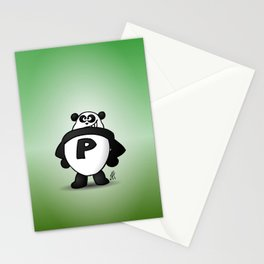 Panda Power Stationery Cards