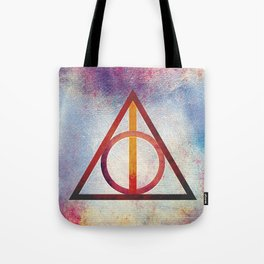Deathly Hallows - Light Tote Bag