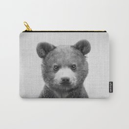 Baby Bear - Black & White Carry-All Pouch