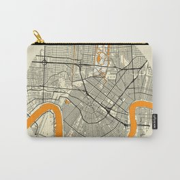 New Orleans Map Moon Carry-All Pouch