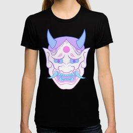 Hannya Mask (pastel) T-shirt