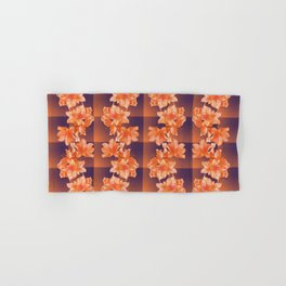 Blooming Checks (Party Mix) Hand & Bath Towel