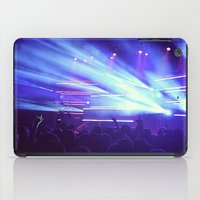 concert iPad Cases featuring Concert Lights by Tyler Shaffer