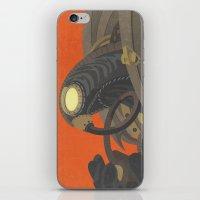 bioshock infinite iPhone & iPod Skins featuring SongBird - BioShock Infinite by LindseyCowley