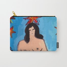 """L'étoile"" Tarot card, my favorite painting Carry-All Pouch"