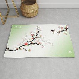 Cherry Blossom Tree Rug