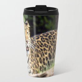 Amur Leopard Travel Mug
