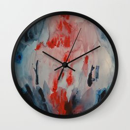 When You see someone suffering and this person happens to be the one you love the most Wall Clock