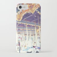 carousel iPhone & iPod Cases featuring Carousel  by Bree Madden