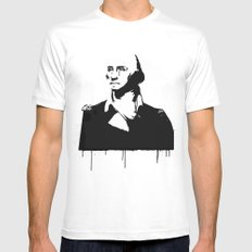 George Washingtear White MEDIUM Mens Fitted Tee