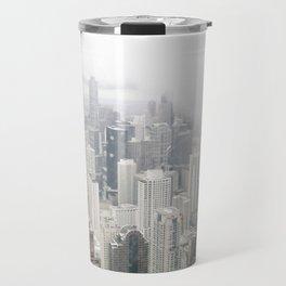 Cloudy Chicago Travel Mug