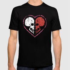 MADly in love with you  (Mutual Assured Destruction) Mens Fitted Tee Black MEDIUM